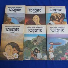MARIE-ANNE DESMAREST - TORENTE ( ROMAN ) * 6 VOLUME - 1992 *