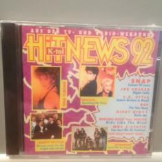 HIT NEWS '92 - Various Artists - cd/nou/sigilat (1992/K-TEL REC/GERMANY) - Muzica Pop universal records