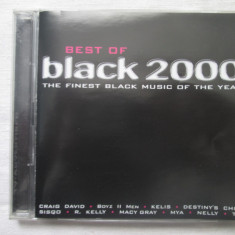 Various - Best Of Black 2000 dublu CD, compilatie, Germania - Muzica R&B Altele