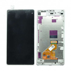 Display Cu Touchscreen Sony Xperia Z1 Compact Original Alb - Display LCD