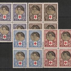 Romania.1945 Crucea Rosie  bloc 4  AX.86
