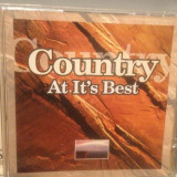 COUNTRY AT IT'S BEST - Various Artists - cd/Original/stare FB (2002/QED/GERMANY), universal records