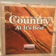 COUNTRY AT IT'S BEST - Various Artists - cd/Original/stare FB (2002/QED/GERMANY) - Muzica Country universal records