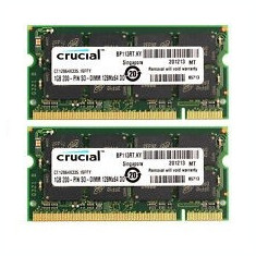 Memorie RAM Laptop 2Gb DDR1 333Mhz PC2700 SODIMM Memory