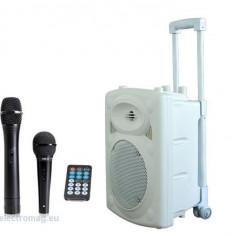 BOXA PORTABILA 8 inch/20CM CU USB/MP3/BT ALBA - Mixere DJ