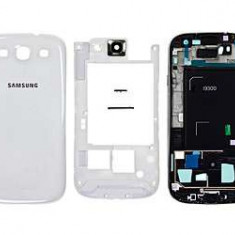 Carcasa Samsung Galaxy S3 i9300 Originala Alba