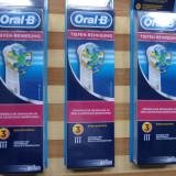Oral-b rezerve periuta electrica, fabricate in germania, la set de 3 buc. noi