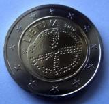 LITUANIA 2 euro comemorativa 2016, UNC, Europa, Cupru-Nichel