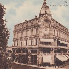 BUCURESTI, CAFEU HIGH - LIFE SI JOKEY - CLUB - Carte Postala Muntenia dupa 1918, Necirculata, Printata