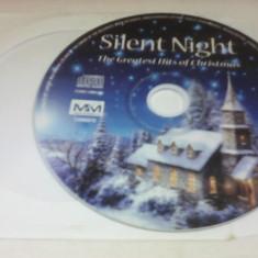 CD SILENT NIGHT - THE GREATEST OF CHRISTMAS FARA COPERTA - Muzica Sarbatori