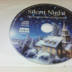 CD SILENT NIGHT - THE GREATEST OF CHRISTMAS FARA COPERTA - Muzica Sarbatori