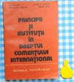 Principii si institutii in dreptul comertului international Ion Dogaru