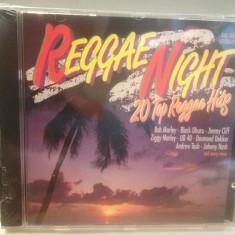 REGGAE NIGHT- 20 TOP REGGAE HITS - cd/nou/sigilat (1992/K-TEL REC/GERMANY) - Muzica Reggae