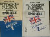 METODA RAPIDA DE INVATARE A GRAMATICII LIMBII ENGLEZE MONICA VISAN VOL,1,2