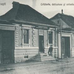 ZARNESTI   COFETARIE   DELICATESE  SI  COLONIALE E. HIENZ  FOTOGRAF V. GREGORSCH, Necirculata, Printata