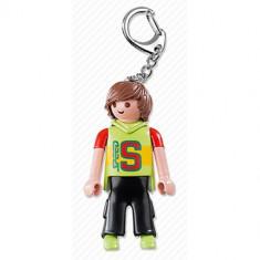Breloc Playmobil Cu Skateboarder - Figurina Povesti