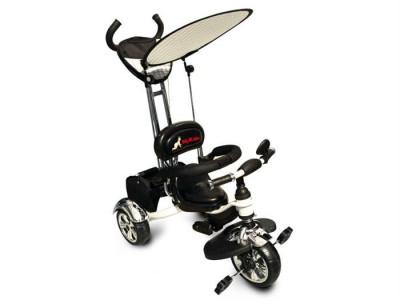 Tricicleta Pentru Copii Mykids Luxury Kr01 White foto