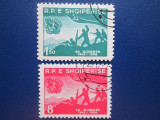 TIMBRE ALBANIA STAMPILATE, Stampilat