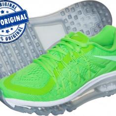 Adidasi dama Nike Air Max 2015 - adidasi originali - running - alergare, Culoare: Verde, Marime: 40, Textil