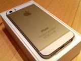 IPhone 5s 16gb auriu impecabil + bonus folie sticla si husa, Neblocat, Apple