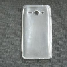 Husa silicon ultraslim transparenta pentru telefon Huawei Ascend Y530 - Husa Telefon