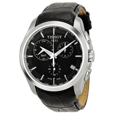 Ceas barbatesc  Tissot Couturier GMT ecran negru foto