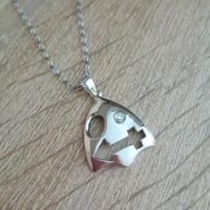 Pandantiv / Medalion Zodie Sagetator si Lantisor / Lantic Argint - Pandantiv argint