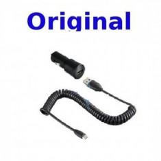 Incarcator auto Htc CC C200 microUSB bulk - Incarcator telefon HTC