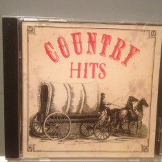 COUNTRY HITS - Various Artists - cd/Original/stare FB (1991 /SAN JUAN /EEC) - Muzica Country Altele