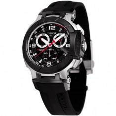 Ceas barbatesc Tissot T-Race Mens Watch T048.417.27.057.00, Lux - sport, Quartz, Inox, Cauciuc, Cronograf
