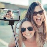 Selfie Wireless Monopod Manta MA421 (maner telescopic) universal, conexiune bluetooth negru - Selfie stick