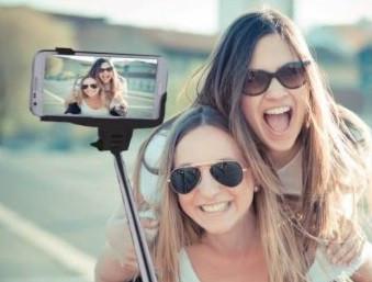 Selfie Wireless Monopod Manta MA421 (maner telescopic) universal, conexiune bluetooth negru foto mare