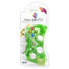 Controller Rock Candy Aqualime Xbox360