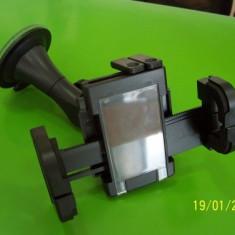 Suport auto universal negru pentru BlackBerry Z10, Nokia Lumia 520, Apple iPhone 5/5S/5C, Samsung Galaxy S4/S5/Note 3/Mega 6.3 i9200, Sony Xperia Z1