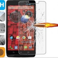 FOLIE STICLA SECURIZATA MOTOROLA X FORCE TEMPERED GLASS - Folie de protectie Motorola, Anti zgariere