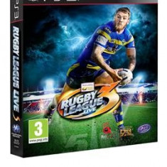 Rugby League Live 3 Ps3, Sporturi, 3+, Activision