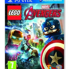 Lego Marvel Avengers Ps Vita, Actiune, 3+, Single player