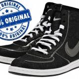 Adidasi dama Nike Air Scandal Mid - adidasi originali - ghete panza, Culoare: Negru, Marime: 37.5, 38, Textil