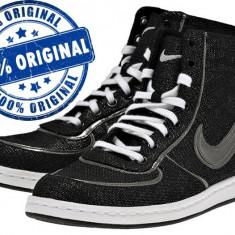 Adidasi dama Nike Air Scandal Mid - adidasi originali - ghete panza, Culoare: Negru, Marime: 37.5, Textil