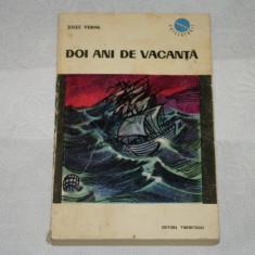 Doi ani de vacanta - Jules Verne - Editura Tineretului - 1966 - Roman