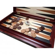 Joc de table din lemn, maro - Set table