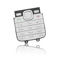 Tastatura telefon Nokia C1-01 argintie - Tastatura telefon mobil