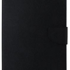 Husa tip carte Mercury Goospery Fancy Diary neagra pentru tableta Apple iPad Air 2 - Telefon Allview