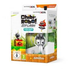 Chibi-Robo! Zip Lash Amiibo Bundle Nintendo 3Ds
