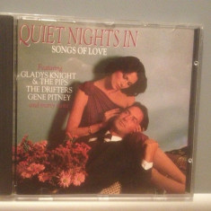 QUIET NIGHTS IN SONG OF LOVE-Various Artists-cd/Original/stare FB (1986/ONN/RFG) - Muzica Rock & Roll
