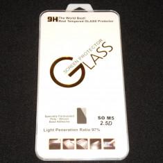 Folie de Sticla Protectie ecran Tempered Glass Sony Xperia M5