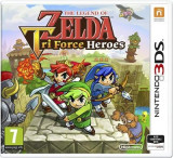 The Legend Of Zelda Tri Force Heroes Nintendo 3Ds, Actiune, 12+
