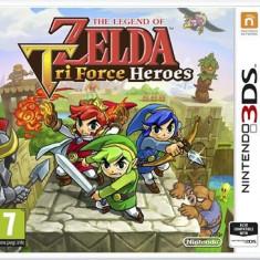 The Legend Of Zelda Tri Force Heroes Nintendo 3Ds, Actiune, 12+