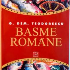 BASME ROMANE de G. DEM. TEODORESCU, 2005