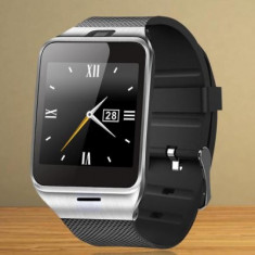 Smartwatch cu sim Aplus GV18 + livrare gratuita, Otel inoxidabil, watchOS